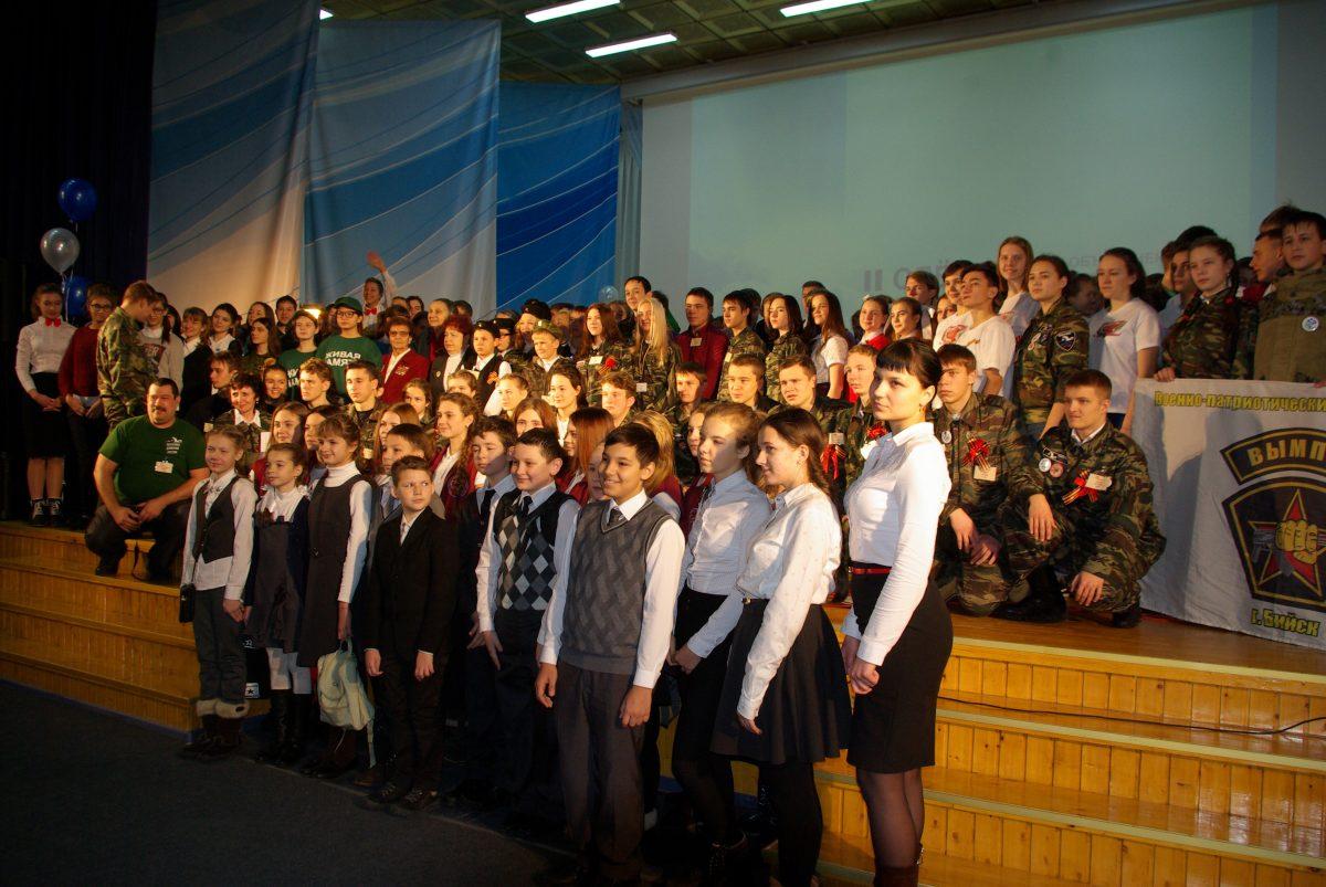 Алтайский край. Добровольцам рассказали о Народном проекте «Бессмертного полка России»