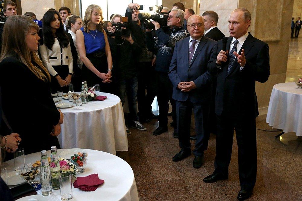 Владимир Путин поддержал работу по установлению судеб