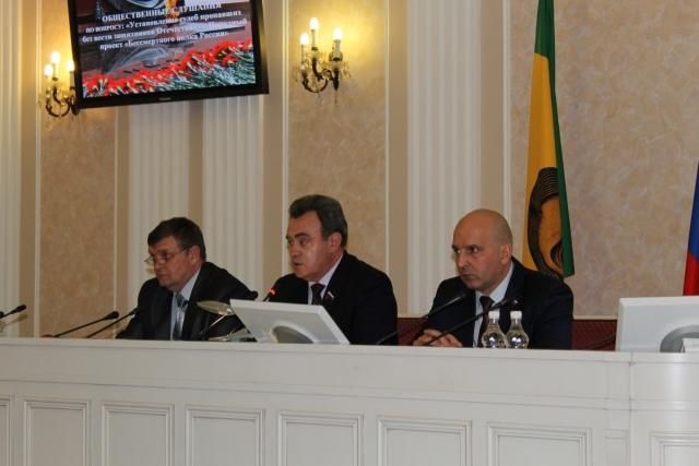 В Пензенской области прошли слушанья по Народному проекту