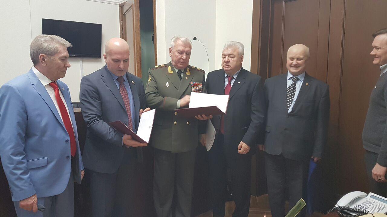 Соглашение о взаимодействии подписано с Российским союзом ветеранов