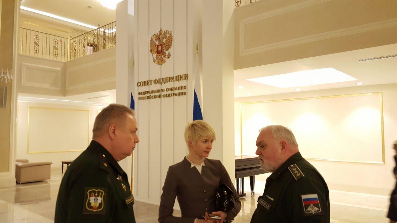 В Совете Федерации обсудили вопросы о воинских захоронениях
