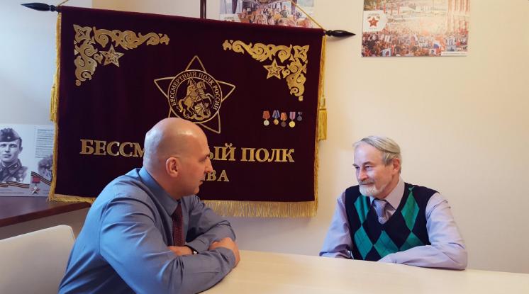Историк Волков открыл Архивному батальону свою уникальную базу данных