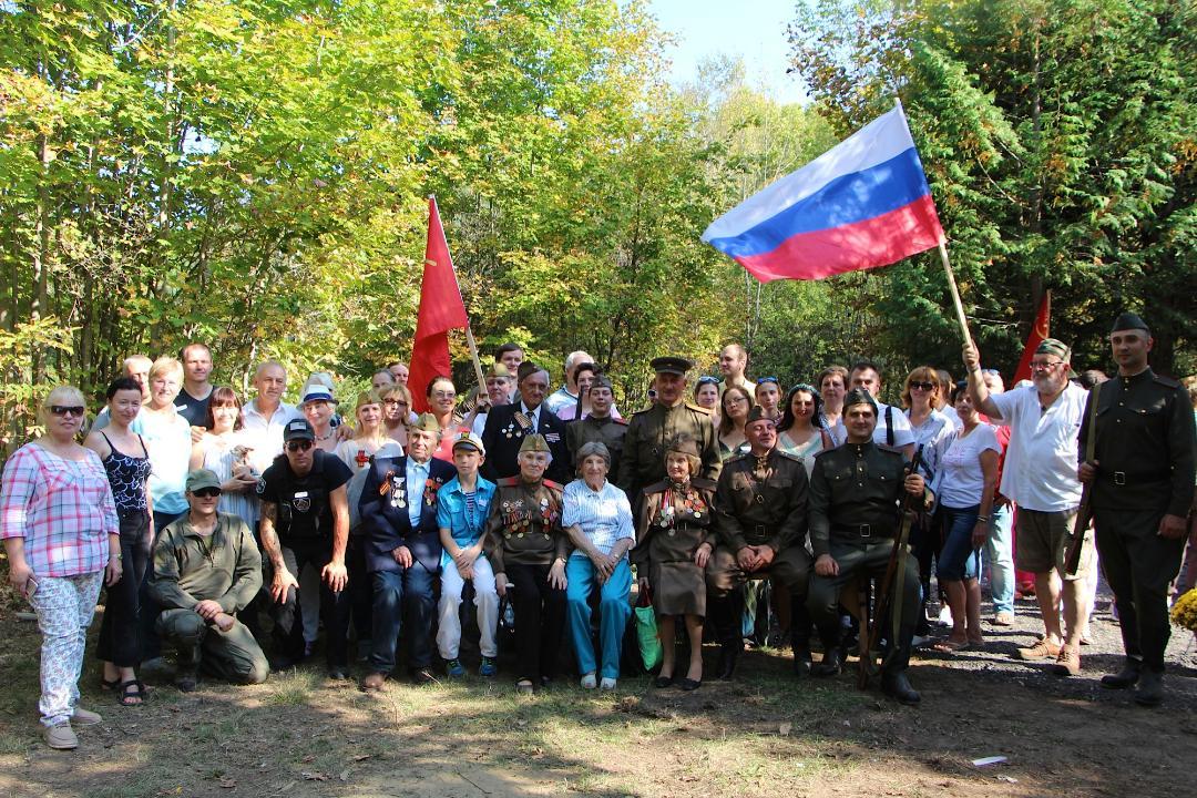 Канада. Открытие Мемориала памяти советским воинам-освободителям