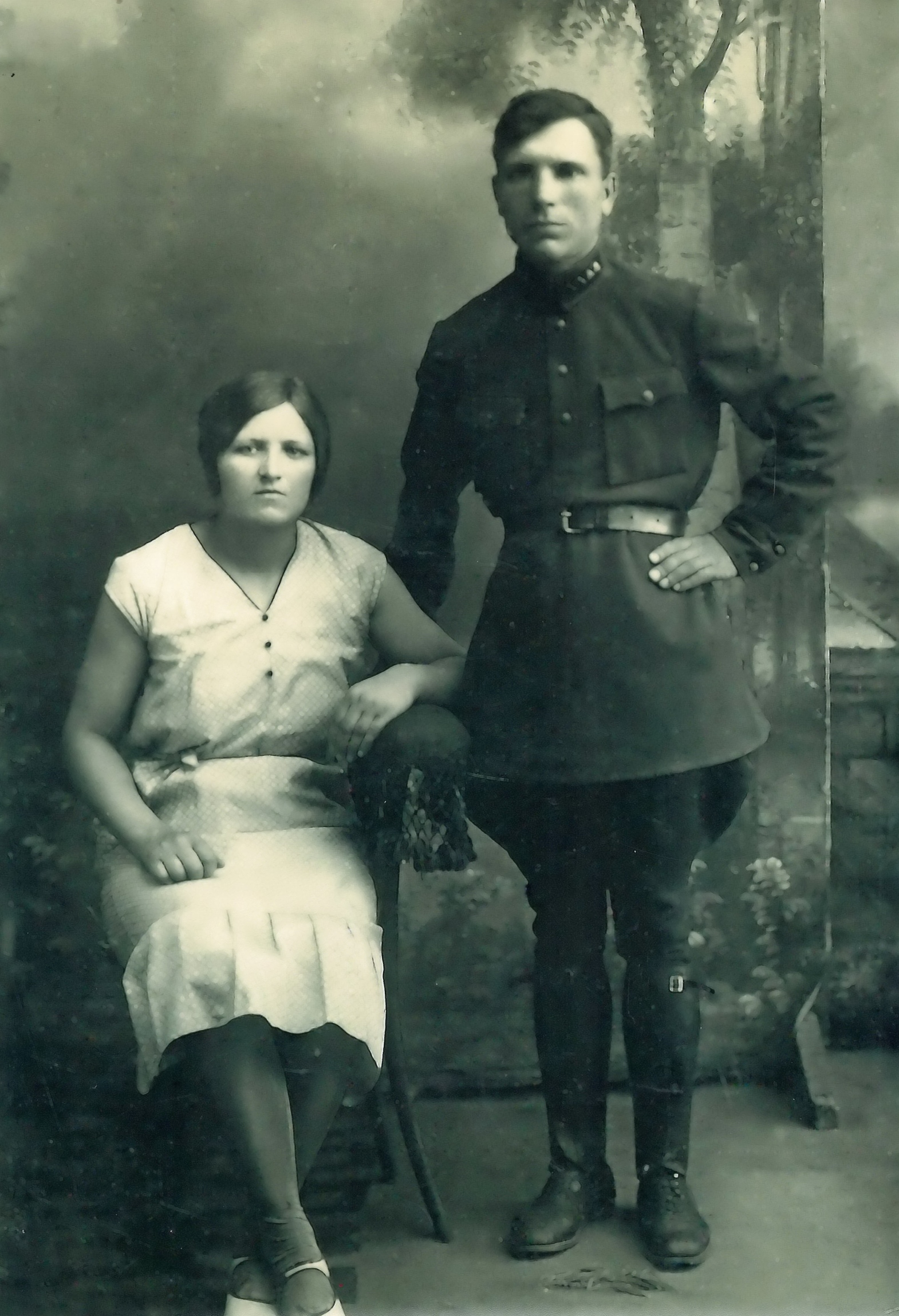 Дмитрий Аристархович Браташов с супругой