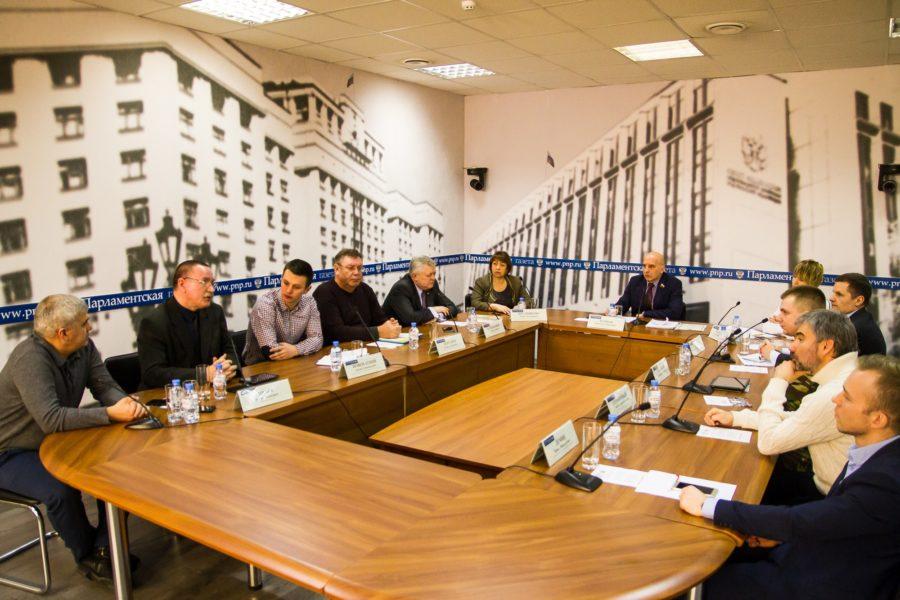 Установление судеб пропавших без вести защитников Отечества обсудили в пресс-центре «Парламентской газеты»