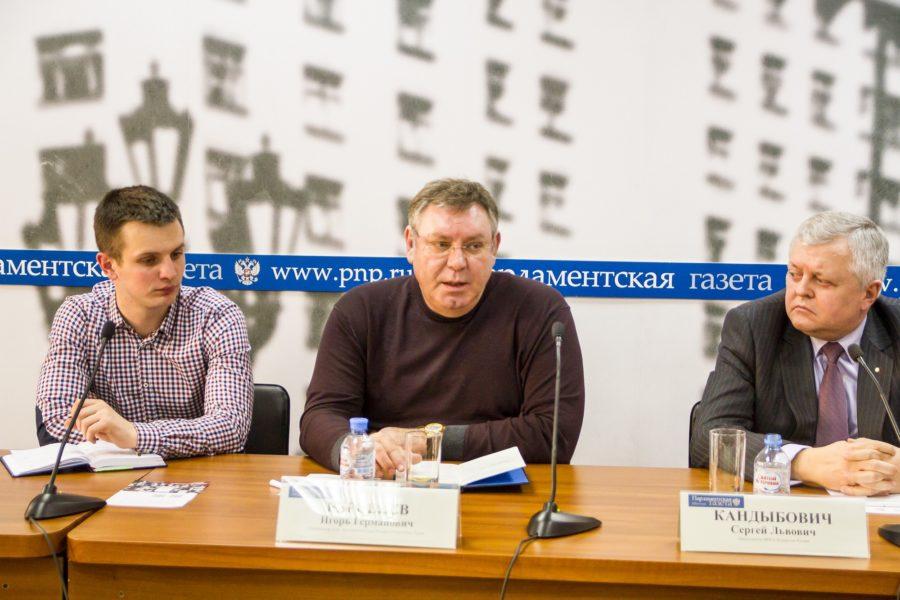 Координатор ООД «Бессмертный полк России» в Республике Крым Игорь Берсенев