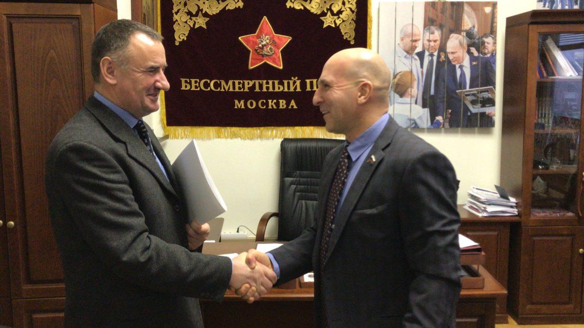 РПОО «Бессмертный полк - Москва» и польская организация Содружество «KURSK» подписали соглашение о взаимодействии и сотрудничестве в вопросе сохранения памятников советским солдатам-освободителям, расположенным на территории Польши