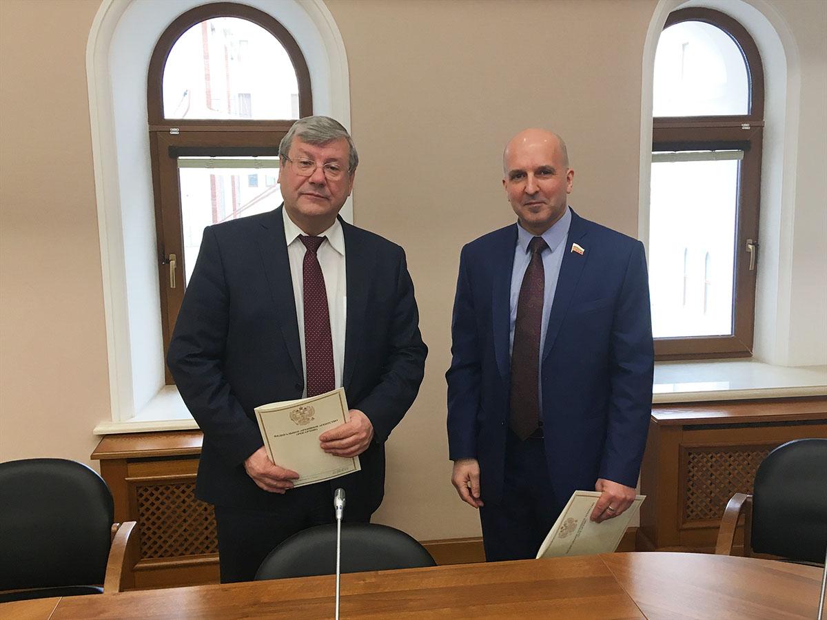 Андрей Артизов и Николай Земцов